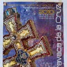 Carteles Feria: CARTEL POSTER FIESTAS DE MAYO, CARAVACA DE LA CRUZ ( MURCIA ) AÑO 2010. Lote 171655593