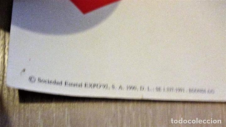 Carteles Feria: CARTEL EXPO'92 SEVILLA. 100 X 70 CM. 1992. EXPOSICIÓN UNIVERSAL. - Foto 3 - 172580830