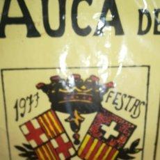 Carteles Feria: CARTEL PÓSTER, AUCA, FIESTAS DE LA MERCE 1977. Lote 173093017