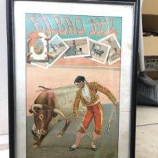 Carteles Feria: CARTEL TOROS 1914 BILBAO. Lote 173625808