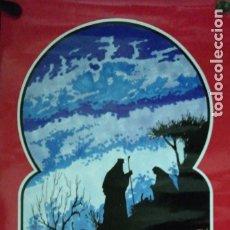 Carteles Feria: CARTEL. EN NAVIDAD PON TU BELEN. NAVIDAD 1991. CONSEJO LOCAL DE HERMANDADES Y COFRADIAS.. Lote 175161778