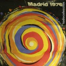 Carteles Feria: FIESTAS DE SAN ISIDRO. MADRID. 1976. AQULLO. Lote 177436463