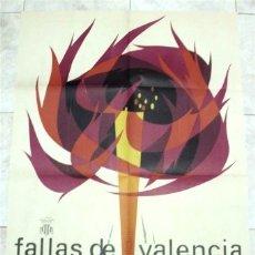 Carteles Feria: CARTEL FALLAS DE SAN JOSÉ - VALENCIA 1965. Lote 178066478