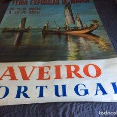 Carteles Feria: FEIRA, EXPOSIÇÃO DE MARÇO. DE 16 DE MARÇO A 25 DE ABRIL. ANO 1966. DIMENS. 67,0 X 97,0 CM. Lote 178592255