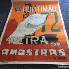 Carteles Feria: FEIRA DE AMOSTRAS, PORTIMÃO. DIMENS. 49,5 X 68,0 CM. Lote 178592706
