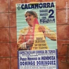 Carteles Feria: GRAN CARTEL DE TOROS AÑO 1996, 191×90 CM, EL CORDOBÉS. Lote 178597083