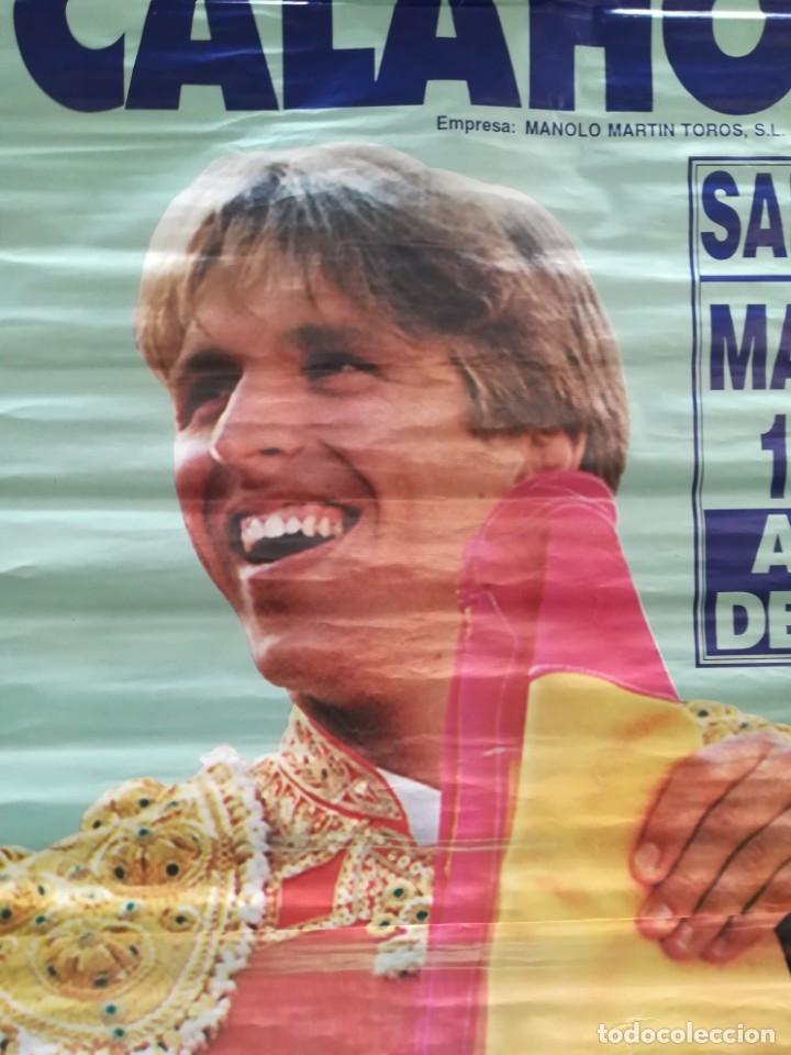 Carteles Feria: Gran cartel de toros año 1996, 191×90 cm, El Cordobés - Foto 8 - 178597083