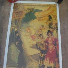 Carteles Feria: CARTEL DE LA FERIA DE SEVILLA DE 1980. Lote 179101766