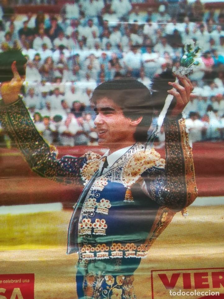 Carteles Feria: Gran cartel de toros año 1995 , 190×90 cm - Foto 2 - 179399471