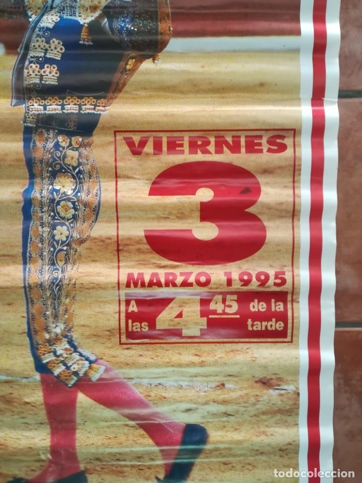 Carteles Feria: Gran cartel de toros año 1995 , 190×90 cm - Foto 4 - 179399471