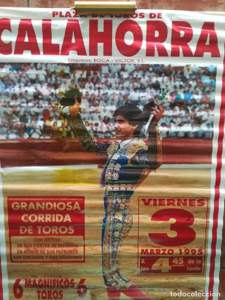 Carteles Feria: Gran cartel de toros año 1995 , 190×90 cm - Foto 5 - 179399471