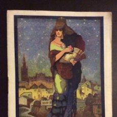 Carteles Feria: SEVILLA FIESTAS DE PRIMAVERA ,PROGRAMA OFICIAL 1925 . Lote 181521670