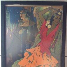 Carteles Feria: CARTEL ORIGINAL SEVILLA 1926-FIESTAS DE PRIMAVERA SEMANA SANTA Y PRIMAVERA . Lote 182692313