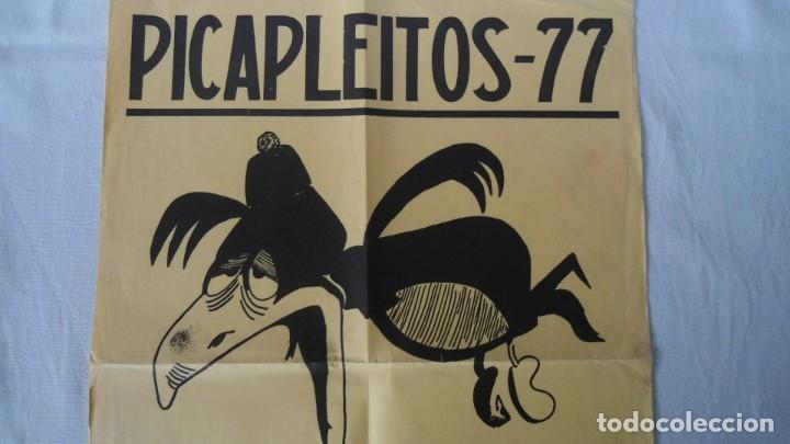 Carteles Feria: CARTEL FIESTA UNIVERSITARIO DE DERECHO 1977 - Foto 2 - 182898621