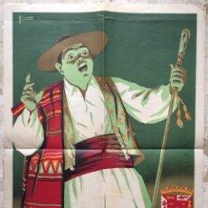 Carteles Feria: CARTEL FIESTAS DE PRIMAVERA MURCIA 1953. Lote 184238041