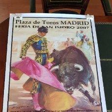 Affissi Fiera: CARTEL POSTER FERIA SAN ISIDRO 2007. Lote 184441521