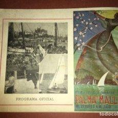 Carteles Feria: PALMA DE MALLORCA, PROGRAMA FIESTAS DE PRIMAVERA AÑO 1950. 64 PÁGS. MIDE 22 X 16.VILR. Lote 189104875