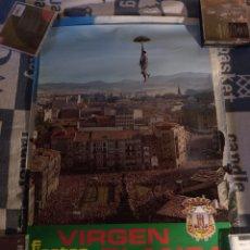 Carteles Feria: FIESTAS VIRGEN BLANCA 1974. Lote 189566001