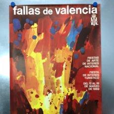 Carteles Feria: CARTEL FALLAS DE VALENCIA. AÑO 1969. Lote 191804081