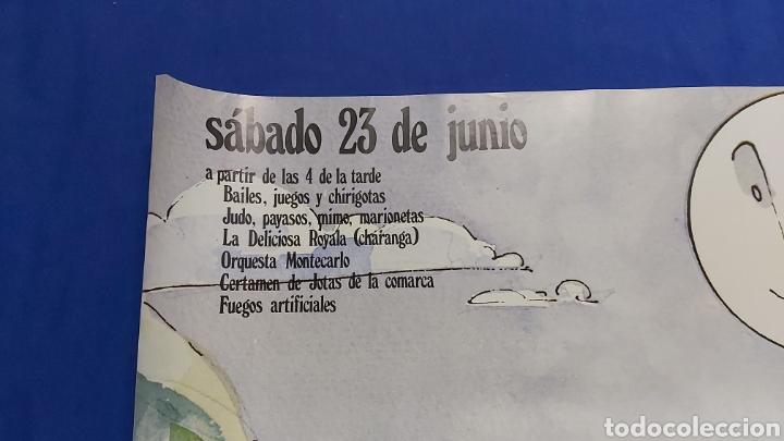 Carteles Feria: CARTEL DIA DE LA SIERRA NORTE 1984 MADRID EN LOS RASOS DE PAJARILLA - Foto 2 - 192282906