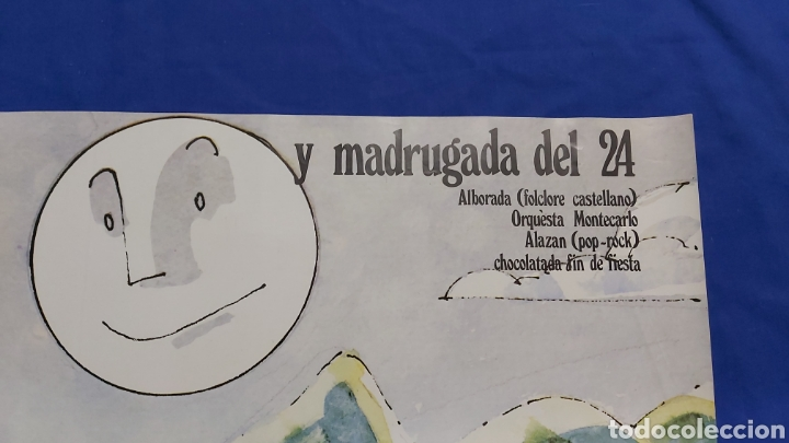 Carteles Feria: CARTEL DIA DE LA SIERRA NORTE 1984 MADRID EN LOS RASOS DE PAJARILLA - Foto 3 - 192282906