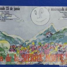 Carteles Feria: CARTEL DIA DE LA SIERRA NORTE 1984 MADRID EN LOS RASOS DE PAJARILLA. Lote 192282906