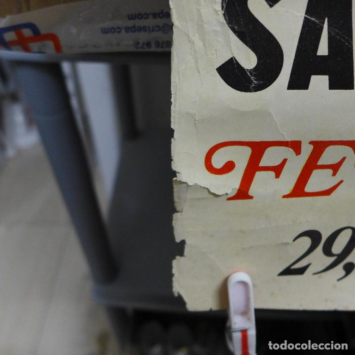 Carteles Feria: CARTEL DE LA FERIA DE LA MANZANILLA DE SANLUCAR 1975 - Foto 4 - 194247550