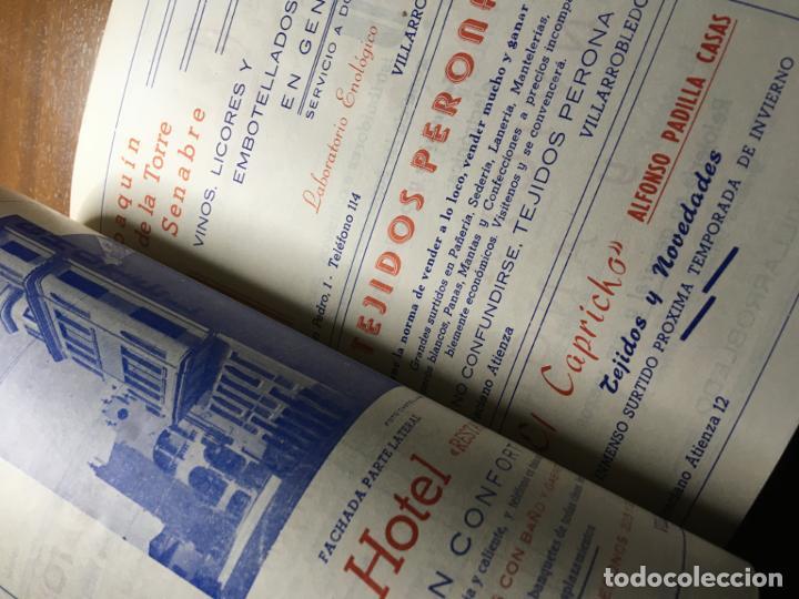 Carteles Feria: Villarrobledo programa de feria y fiestas año 1959.fotos y artículos 56 págs. Vilr - Foto 7 - 194646138