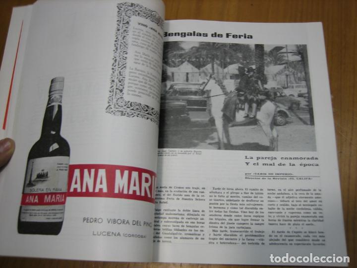 Carteles Feria: Antigua revista Cordoba en Mayo 1971 - Foto 3 - 194897385