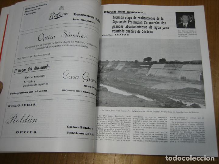 Carteles Feria: Antigua revista Cordoba en Mayo 1971 - Foto 5 - 194897385