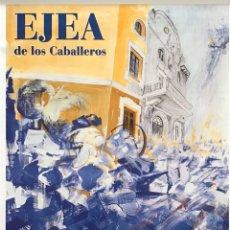 Carteles Feria: CARTEL FIESTAS EJEA 1999. Lote 195001041