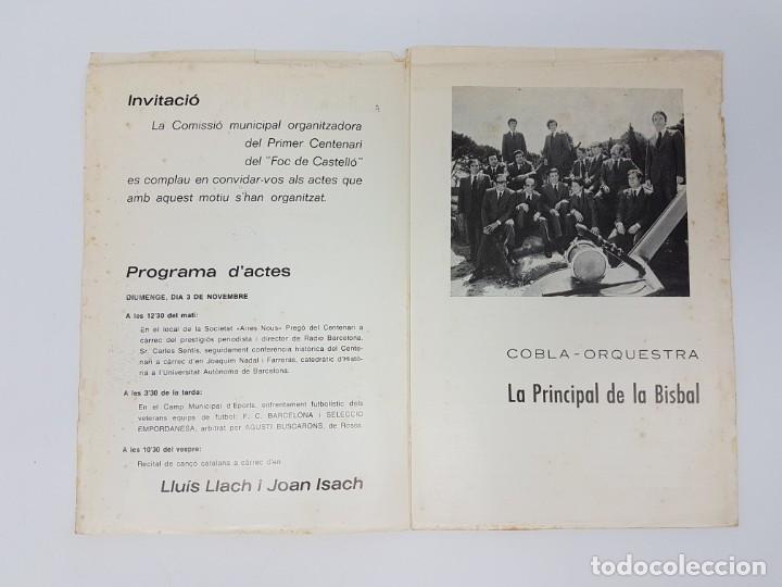 Carteles Feria: CENTENARI DEL FOC DE CASTELLÓ ( 1874-1974 ) ILUSTRAT - Foto 6 - 195106360