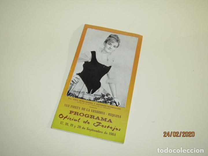 Carteles Feria: Antiguo Programa Oficial de Festejos de XVII Fiesta de la Vendimia de Requena del Año 1964 - Foto 6 - 195137083