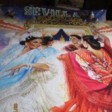 Affiches Foire: SEVILLA FIESTAS DE PRIMAVERA 2011 - FERIA DE ABRIL - JUAN VALDES. - MEDIDAS 140X90 CM. . Lote 198104692