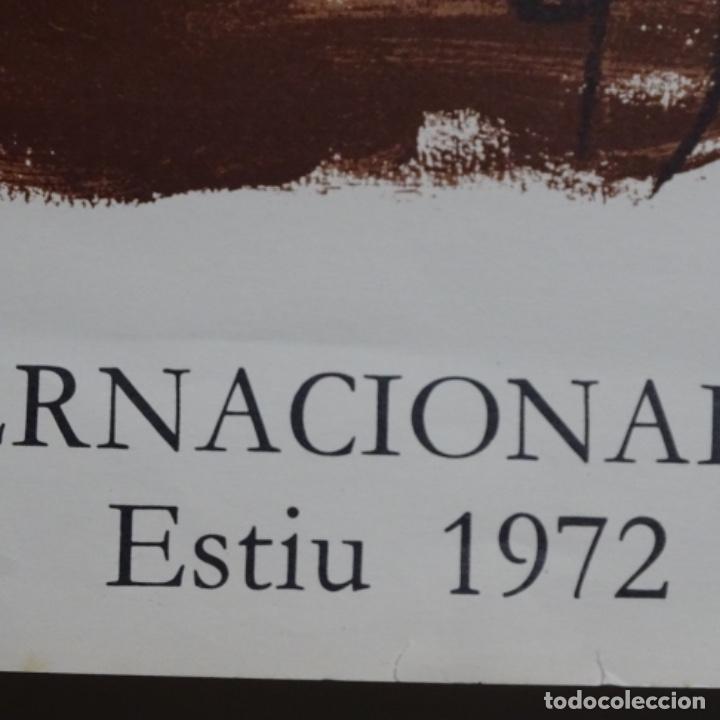 Carteles Feria: Cartel festival internacional de cadaques estiu 1972.tapies. - Foto 5 - 199639032