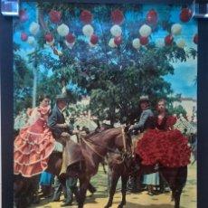 Carteles Feria: FERIA DE SEVILLA. ESPAGNE. Lote 203813231