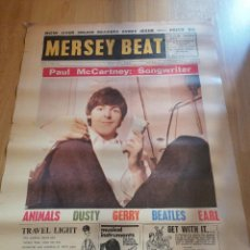 Carteles Feria: CARTEL PAUL MCARTNEY:SONGWRITER (BEATLES) MEDIDAS 86X60. Lote 204140441