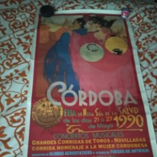 Carteles Feria: CARTEL FERIA SE CÓRDOBA 1990. 58X93. Lote 204400975