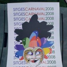 Carteles Feria: CARNAVAL SITGES 2008. Lote 205408931