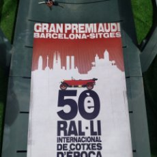 Carteles Feria: RAL.LI INTERNACIONAL COTXES EPOCA 2008. Lote 205409638
