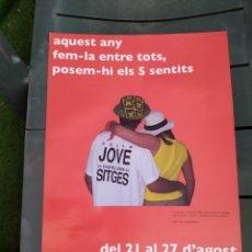 Carteles Feria: JOVE SITGES 2008. Lote 205432083