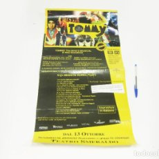 Carteles Feria: CARTEL ITALIANO DEL TOMMY THE WHO'S MUSICAL - 1995. Lote 206285546