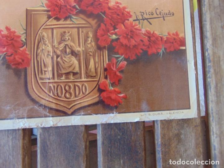 Carteles Feria: CARTEL SEVILLA 1916 SEMANA SANTA Y FERIA ,RICO CEJUDO MIDE 49.5 X 39 CM - Foto 7 - 206329018