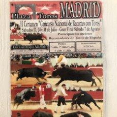 Carteles Feria: CARTEL TAURINO. Lote 206359142