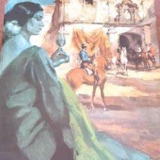 Carteles Feria: CARTEL FERIA DEL PUERTO 1972. Lote 206359210