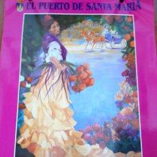 Carteles Feria: CARTEL FERIA DEL PUERTO 1999. Lote 206364836