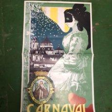 Carteles Feria: CARTEL CARNAVAL DE CÁDIZ 1986. Lote 207142487