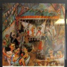 Carteles Feria: ENVELAT DE GRÀCIA. CARTEL ORIGINAL DE LAS FIESTAS DE GRACIA (BARCELONA). AÑOS 80.. Lote 211441611