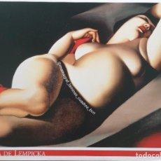 Affiches Foire: TAMARA DE LEMPICKA. LA BELLE RAFAËLA. MAMAGRAF. Lote 216983840
