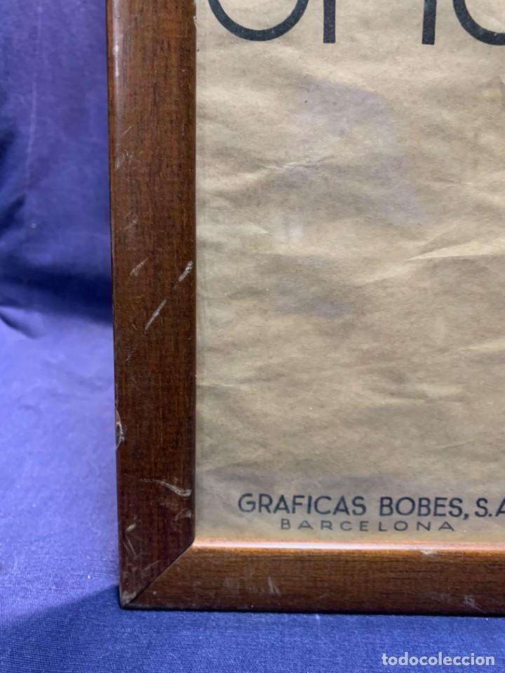 Carteles Feria: CARTEL FERIA BARCELONA OFICIAL INTERNACIONAL 1935 COMPANY SELLO OFICINA TURISMO CATALUNIA 103X66C - Foto 13 - 217023463